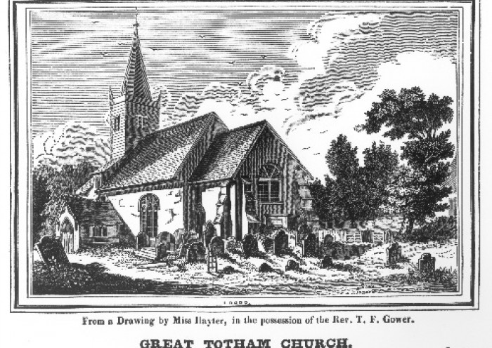 St Peters in about 1831